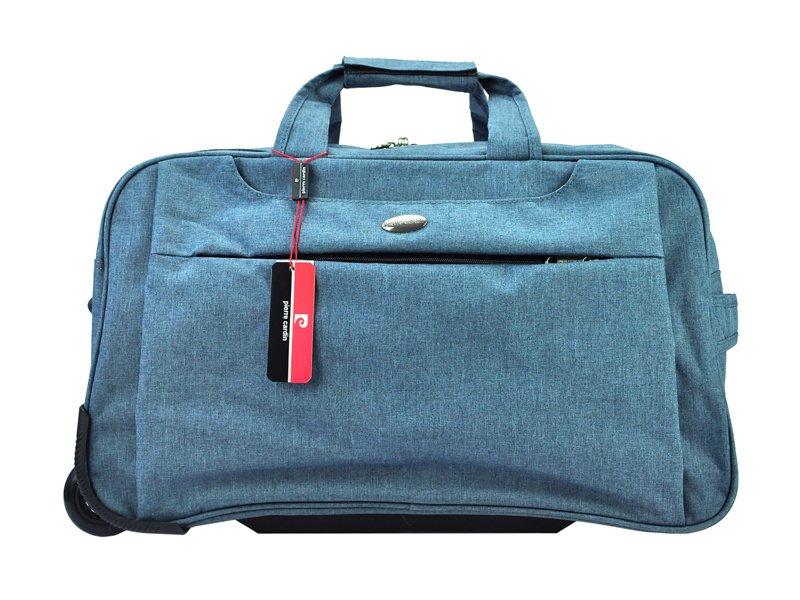 3938f54ee5582 Cestovní taška Pierre Cardin 7152TOP01 - modrá | Dámské peněženky ...