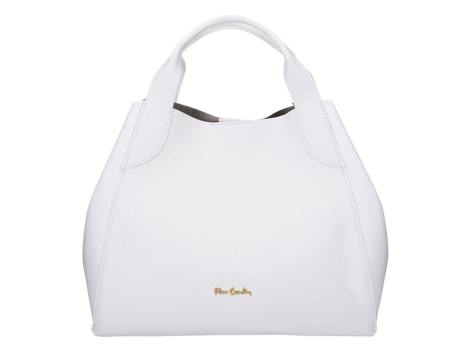 Dámská kabelka Pierre Cardin FRZ1619 DOLLARO - bílá  98c53016b62