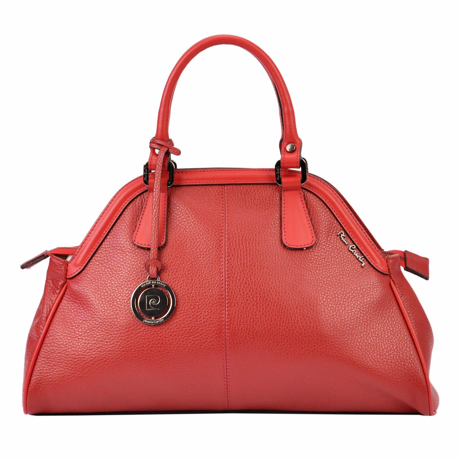 1cd1dac14f Dámská kabelka Pierre Cardin FRZ 1689 FRENZY - červená