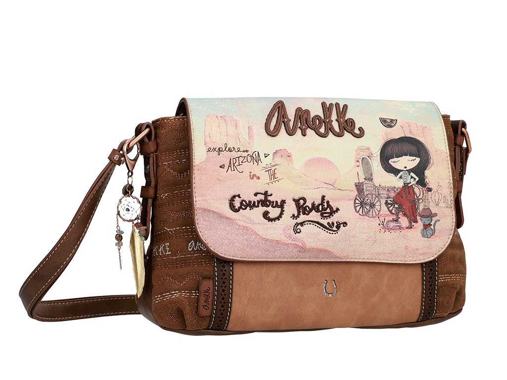 ANEKKE CROSSBODY KABELKA S KLOPOU ARIZONA COUNTRY