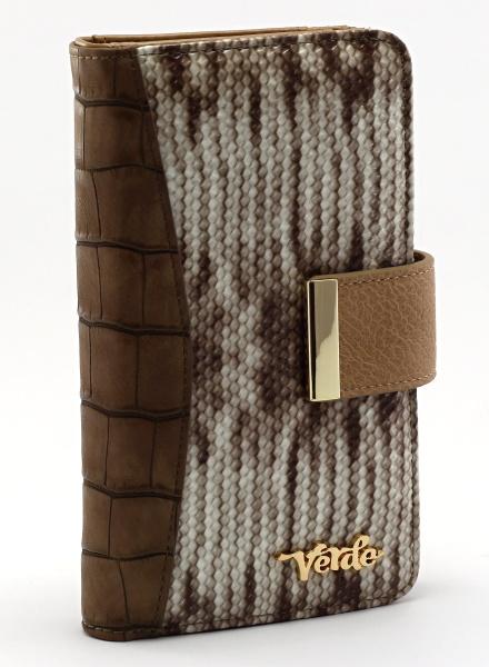 83aefde6b9 Dámská peněženka Verde - hnědá